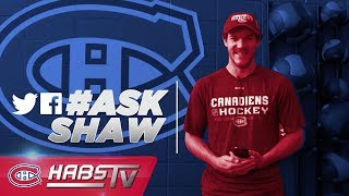 Andrew Shaw answers more fan questions | #AskShaw