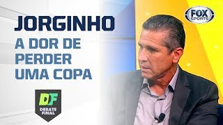 """""""FIQUEI UM MÊS SEM SAIR DE CASA, A SENSAÇÃO ERA COMO PERDER UM ENTE QUERIDO"""", diz Jorginho"""