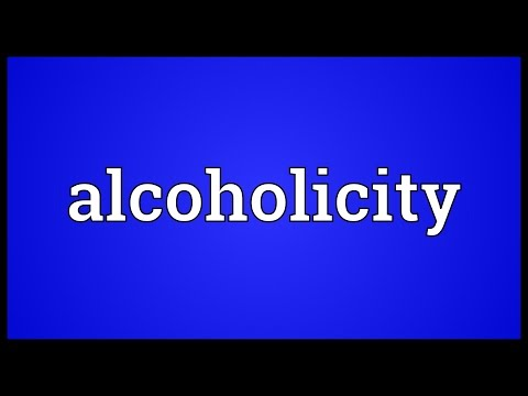 Header of alcoholicity