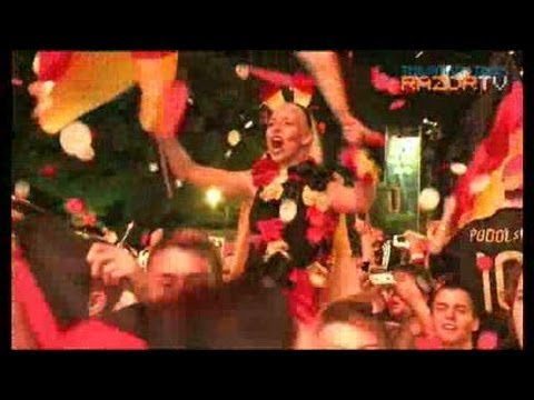 Germany celebrates opening Euro 2012 win over Portugal