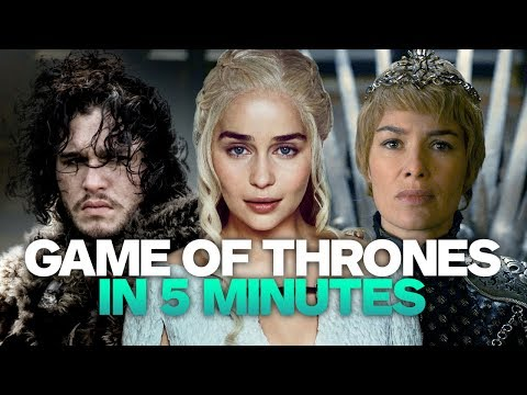 Game Of Thrones Recap In 5 Minutes
