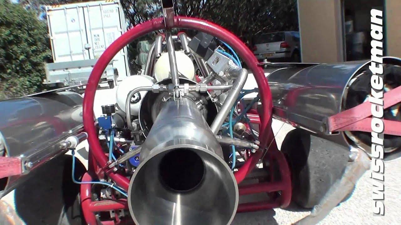 Hydrogen Peroxide Rocket Engine Design