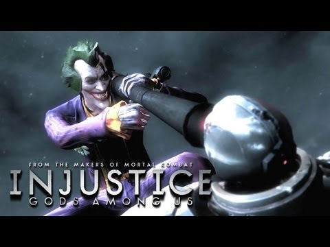 Injustice: Gods Among Us - 'Arkham City DLC Pack Trailer' TRUE-HD QUALITY