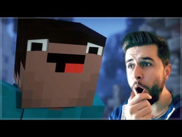 REACTING TO BLOCKING DEAD MINECRAFT MOVIE!! Minecraft Animations!