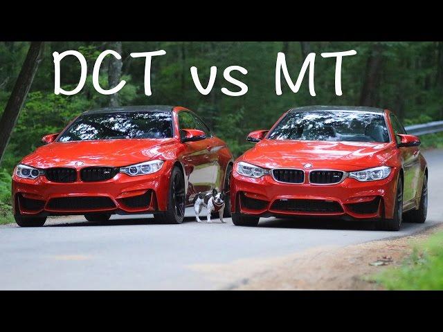 Dual Clutch vs Manual Transmission (DCT vs MT) BMW M4 & M3 ...