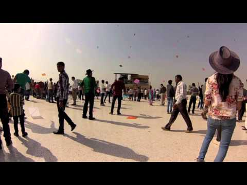 The Kite Festival - Gujurat, India.