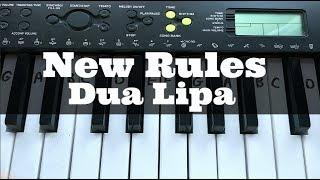 download lagu New Rules - Dua Lipa  Easy Keyboard Tutorial gratis