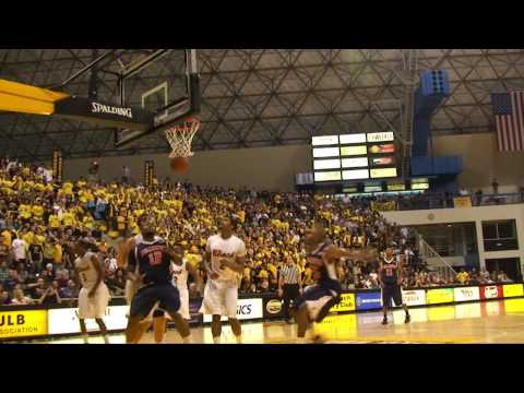 CAL STATE FULLERTON TITANS AT LONG BEACH STATE 49ERS (02/05/10) Video