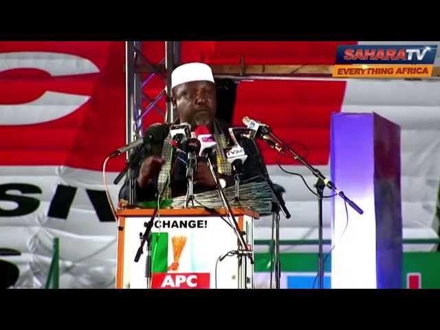 Rochas Okorocha's Speech as Presidential Aspirant at APC Convention