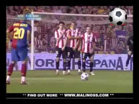 Fc Barcelona Vs Athletic de Bilbao » 4-1 » Final » All Goals (13-5-2009)