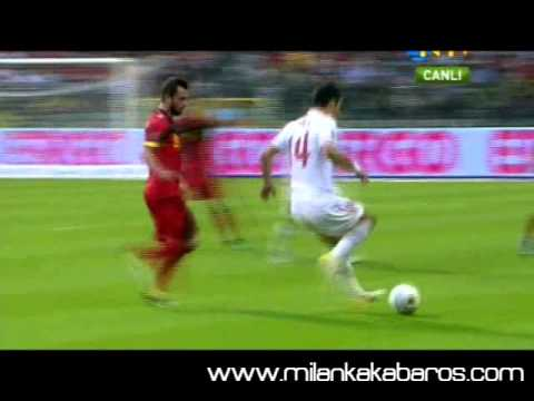 Arda Turan V Belgium Match Compilation 3rd June 2011