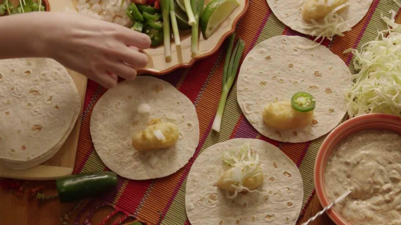 How to make fish tacos fish tacos recipe youtube for How do you make fish tacos