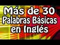 Más de 30 Palabras en Ingles: Casa, Cuartos, etc. - Over 30 Basic English Words