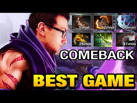 Miracle- Anti-mage Keep Calm and Comeback - Unbelievable Dota 2