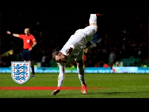 Wayne Rooney v Scotland - goal celebrations past and present | Goals & Highlights