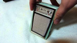 1961 Arvin 61R35 transistor radio (Made in the good old USA)