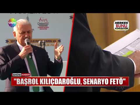 """Başrol Kılıçdaroğlu, senaryo FETÖ"""
