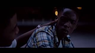Moonlight Kevin and Chiron kiss 2017 movie