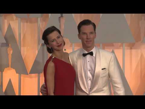 Oscars: Benedict Cumberbatch Red Carpet Fashion 2015