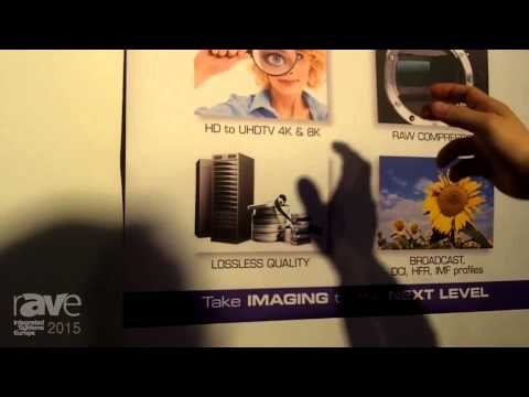 ISE 2015: intoPix Presents the JPEG 2000 HD/4K Compression Technology