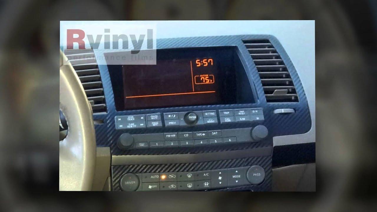 Dash Kits 2004 2006 Nissan Maxima Youtube