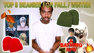 Top 5 beanies for Fall  Winter  jjjjound  Bape  mo