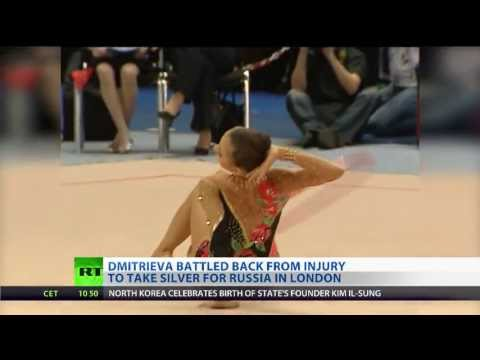 Gymnast Dmitrieva back from injury, hopes to add to London silver