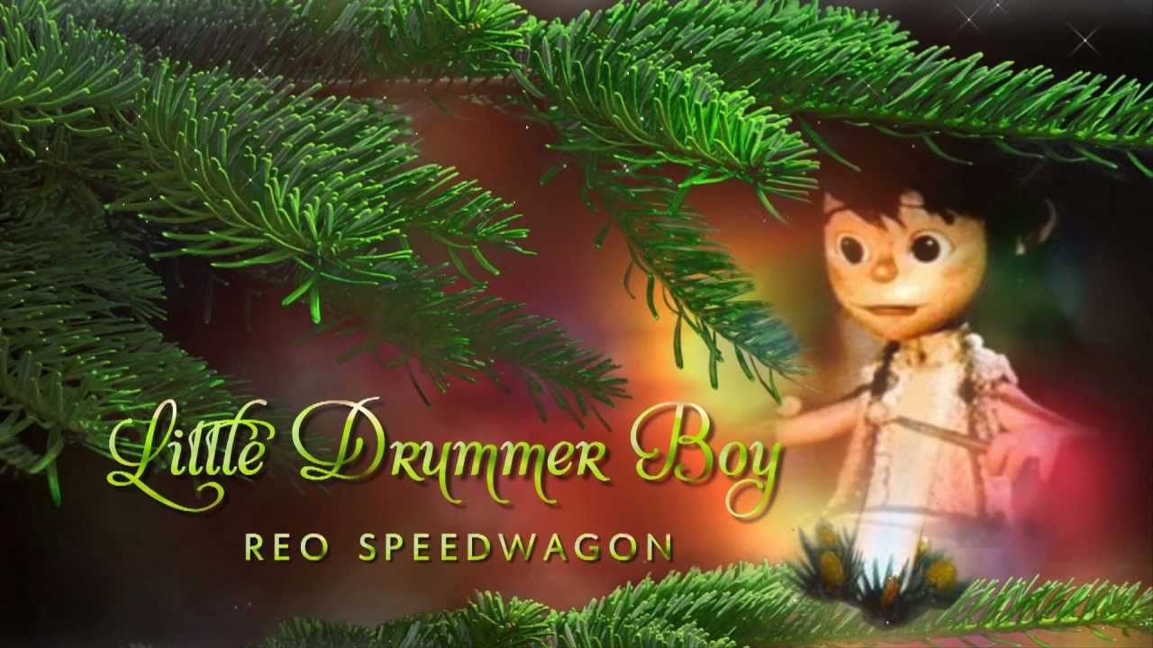 Little drummer boy reo speedwagon youtube