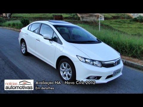 Novo Civic 2012 - Detalhes - NoticiasAutomotivas.com.br