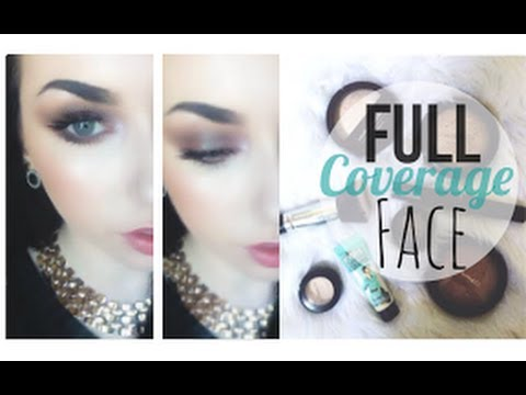 Get Ready With Me   Full Coverage Foundation & MAC Dupes