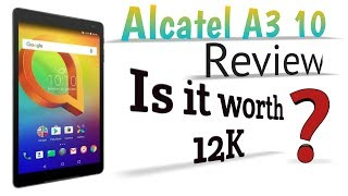 Alcatel A3 10 4G LTE Android Tablet Review | VibsTech 🔥