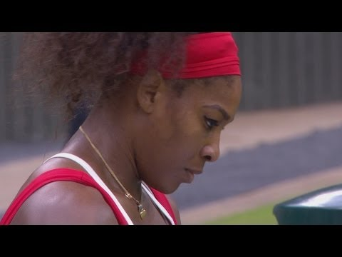 S Williams (USA) v Zvonareva (RUS) Women's Tennis 3rd Round Replay - London 2012 Olympics