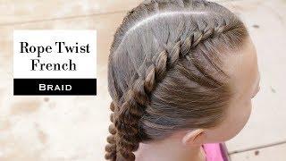 Rope Twist French Braid by Erin Balogh