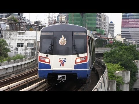 BTS Skytrain Bangkok Thailand 2012.