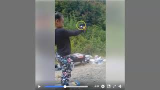 Shooting Training For Your Daughter - Dad Is There Supervising - Good or Bad Training?