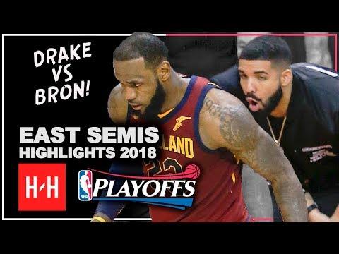 LeBron James Full Series Highlights vs Toronto Raptors 2018 Playoffs ESCF - LeBronto vs Drake!