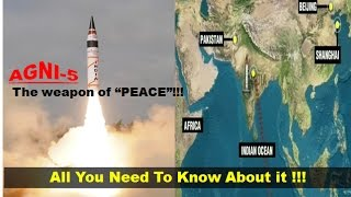 AGNI-5: India's most potent nuclear-capable missile || Successfully Test Fired