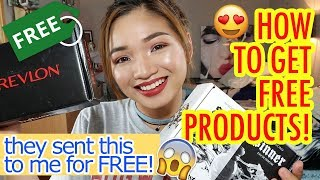 HOW TO GET FREE PRODUCTS LIKE BEAUTY INFLUENCERS 100% LEGIT | NOT SPONSORED