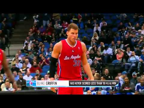 Los Angeles Clippers vs Minnesota Timberwolves - January 30, 2013