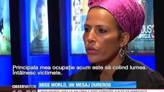 Fostă Miss World, un mesaj dureros