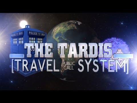 TARDIS Travel System - Real TARDIS Travel in Minecraft! Doctor Who Client Mod
