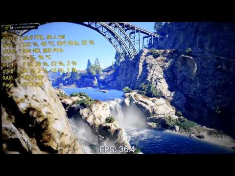 Gigabyte GeForce GT 710 Silent Low Profile - UNBOXING - GTA V/5 Test & Max Temp