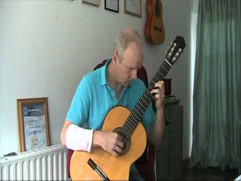 Leo Brouwer Etude No. 18 - Brian Farrell Guitar - www.brianfarrell.eu