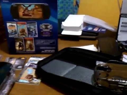 Unboxing de PSP 3010 (ultima version de SONY) Gamer kit