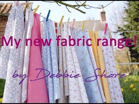 My new fabric range! by Debbie Shore