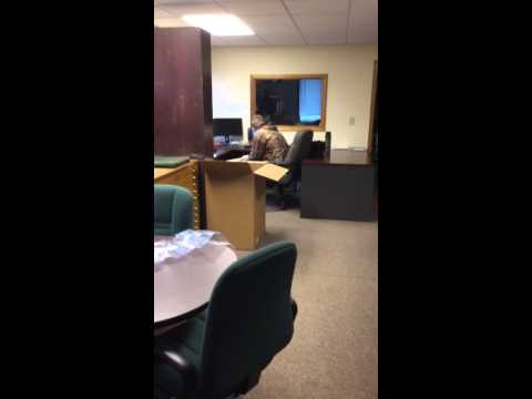 Office Prank to start the day off