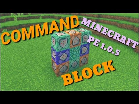 Minecraft PE 1.0.5.0 COMMAND BLOCK, Download Free Apk on Android, MCPE 1.0.5