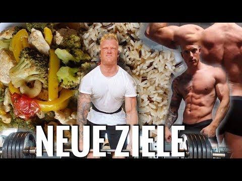 NEUE ZIELE: Training + Ernährung + Bodyupdate - SCHMALE SCHULTER