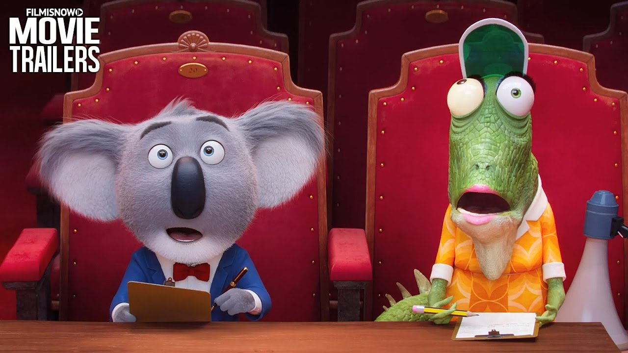 Buster the Koala and his friends star in the Teaser Trailer for SING [HD]