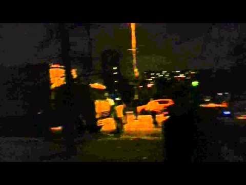 Народный сход погромы и аресты в Бирюлево Видео С места событий №2